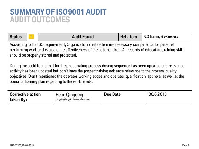 PR_Summary of the supplier audit at chemetall company _ 17 05  017