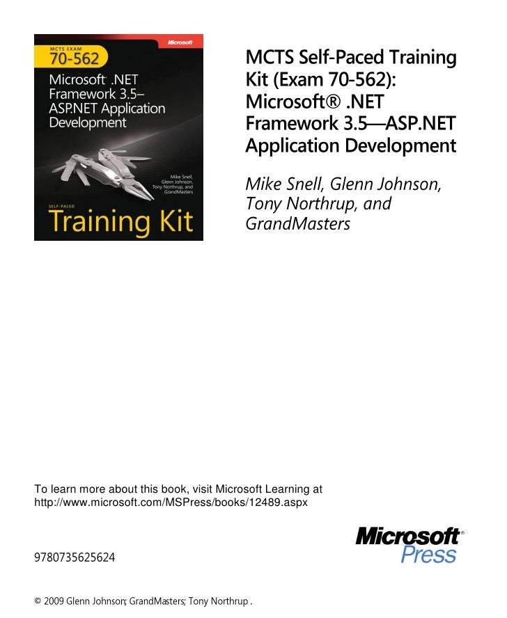 To learn more about this book, visit Microsoft Learning athttp://www.microsoft.com/MSPress/books/12489.aspx©