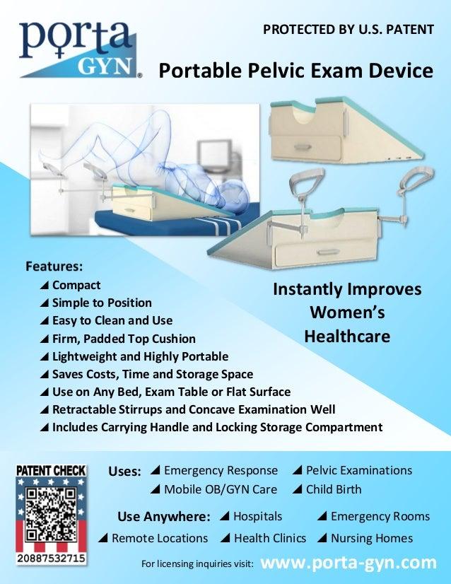 Porta Gyn One Sheet Schnell Medical Llc