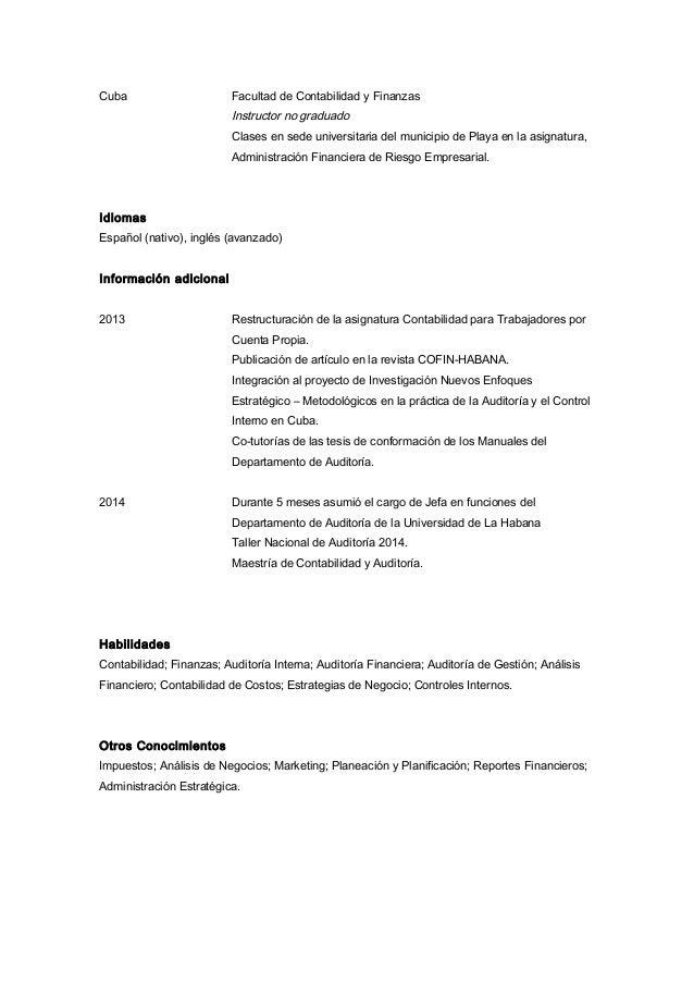 Magnífico Currículum Adjunto De La Universidad Festooning ...