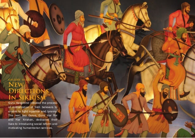 After the formation of the Khalsa, yearsofstrugglefollowedduringwhich the Guru lost his family and his army. It was in ref...