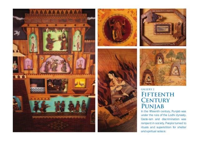 GALLERY 5 Guru Nanak at Kartarpur Guru Nanak finally settled at Kartarpur, where a new brotherhood of devotees was formed....