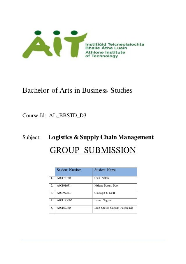 green logistics bachelor thesis Logistics is a physical distribution green logistic or sustainable logistics management environmental sciences essay green logistics.