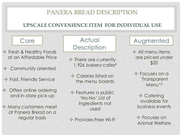 """panera bread marketing mix proposal In august 2017, it acquired panera bread, in a deal valued at some $75  """"the  product mix was such that wesfarmers must have thought that."""