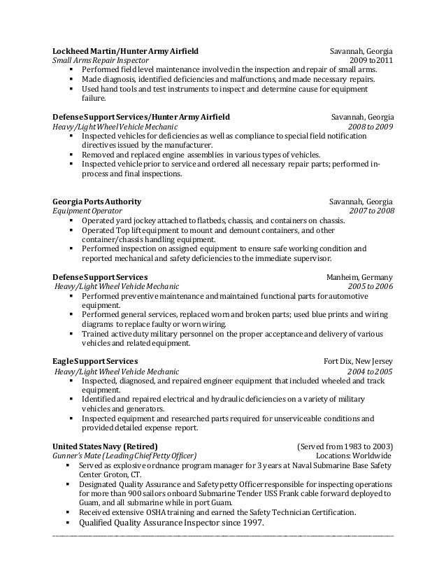 wonderful resume format for quality control engineer templates