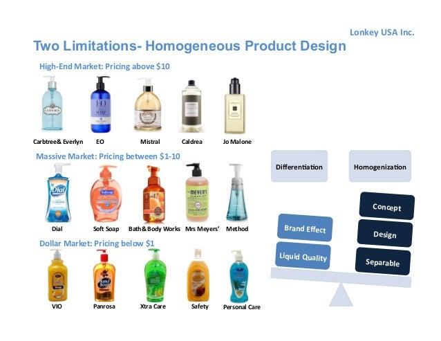 homogeneous product