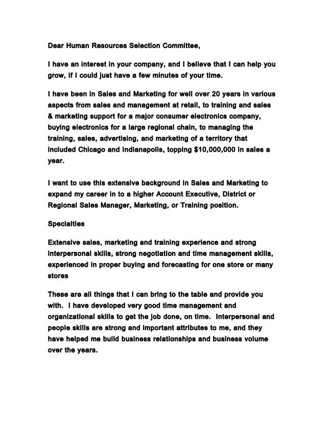 Jim Baker cover letter 12-9-2014