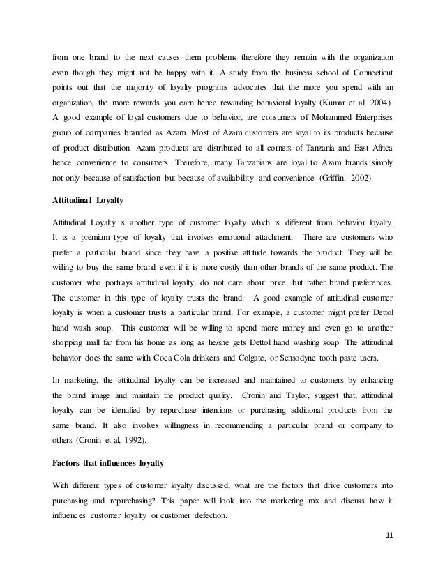 From Thesis To Essay Writing Essay On Customer Loyalty Locavores Synthesis Essay also Argumentative Essay Proposal Essay On Customer Loyalty  Free Marketing Essays How To Make A Thesis Statement For An Essay