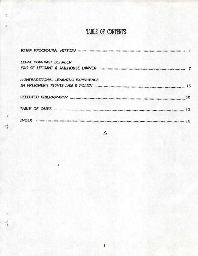 The United States Jailhouse LawyerS Manual