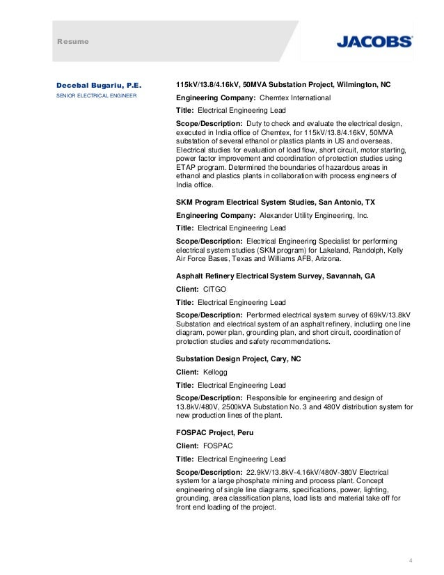 Perfect Savannah Engineering Resume Composition - Administrative ...