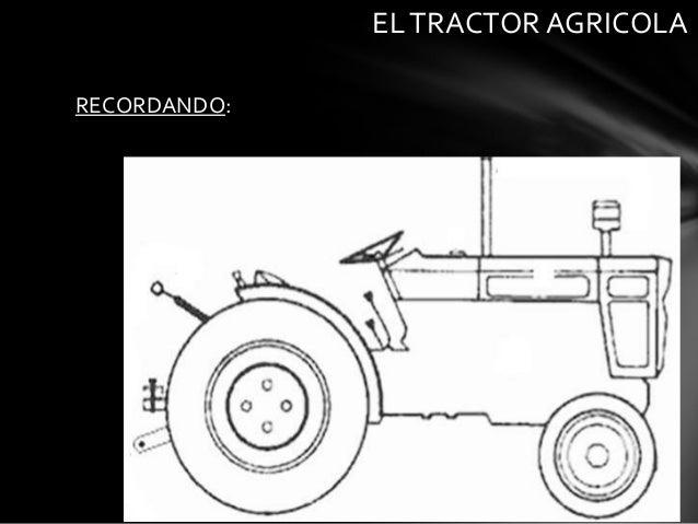 RECORDANDO:ELTRACTOR AGRICOLA