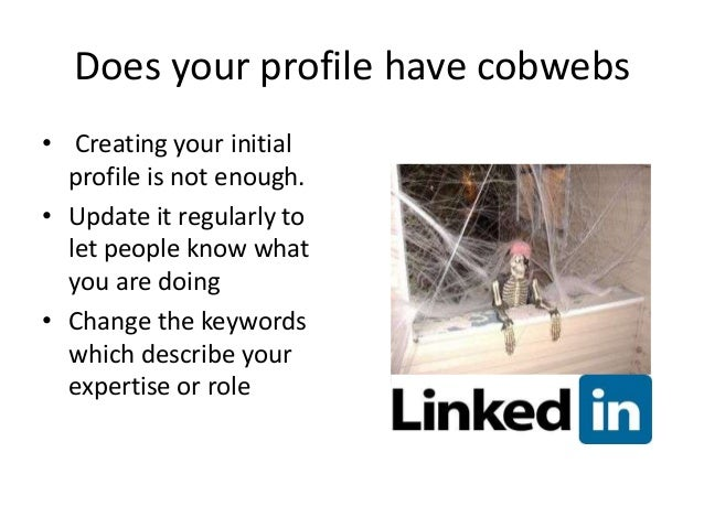 5 Actions To Improve Your LinkedIn Profile  Slide 3