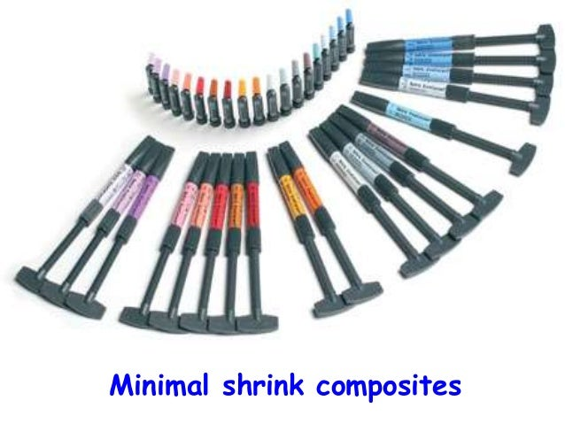 Minimal shrink composites