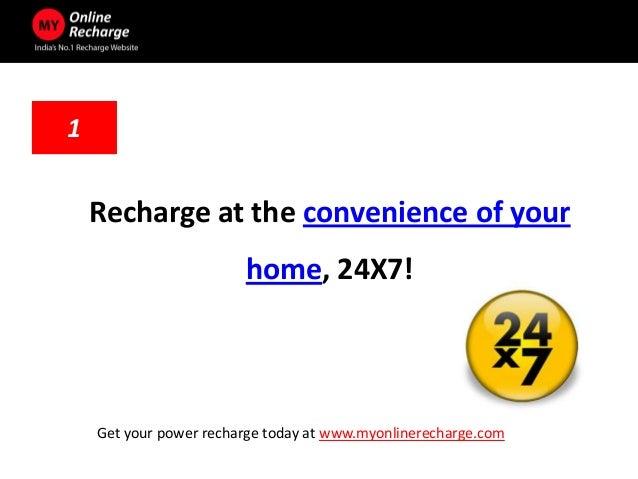 5 advantages of online recharge
