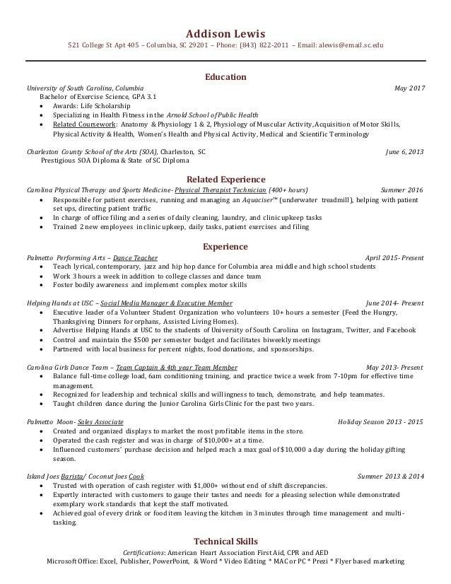 Resume College 3 0
