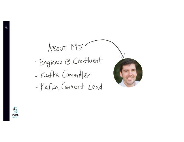 Building Realtime Data Pipelines with Kafka Connect and Spark Streaming: Spark Summit East Talk by Ewen Cheslack Postava Slide 2
