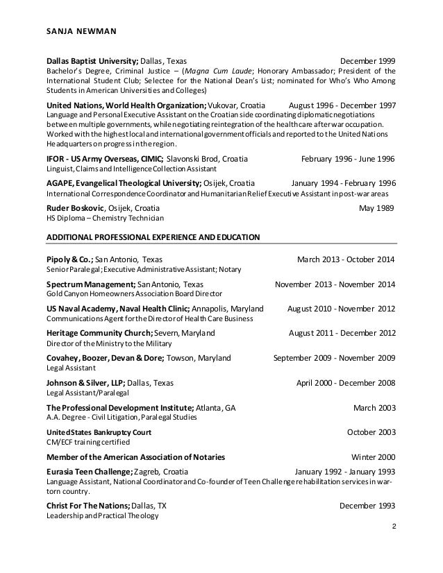 newman linguist resume 2015
