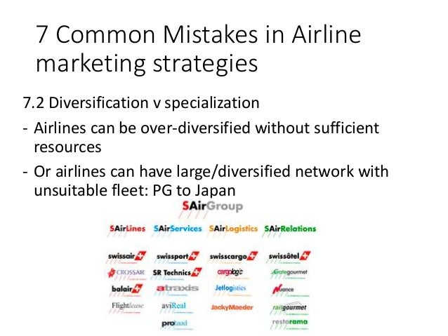marketing strategy airlines It was all started in 1985 the time was the inaugural flight of what was destined  to become the middle east's biggest airline ie emirates the airline is a.