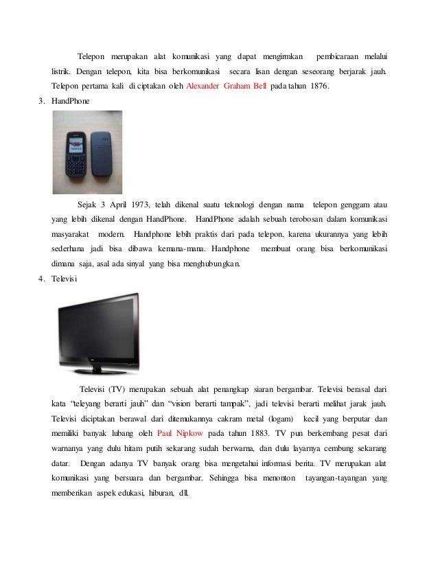 5 Alat Komunikasi Zaman Dahulu