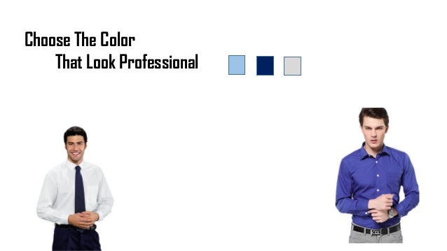 Choose The Color That Look Professional