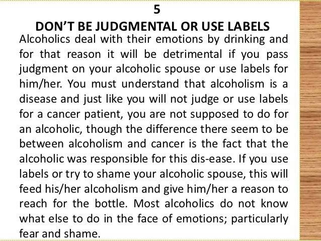 Alcoholic husband emotional abuse