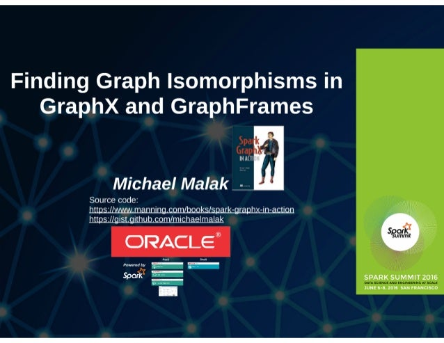 Finding Graph Isomorphisms In GraphX And GraphFrames Slide 2