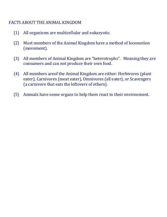 Image of: Chart Askiitians Animal Kingdom Facts