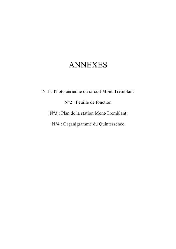 5 Annexes