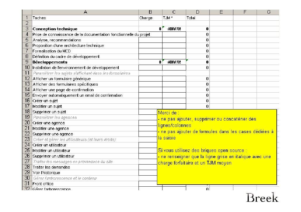 5 Appel D Offres Et Cahier Des Charges