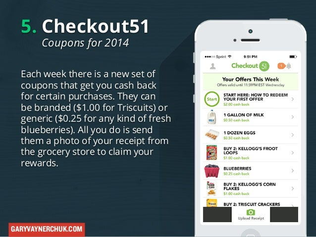 5 Checkout51 Coupons For 2014