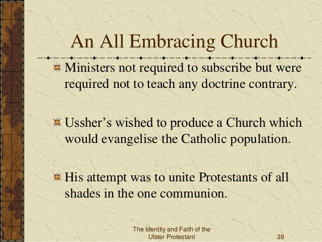 Archbishop James Ussher Forging The Faith Of The Ulster