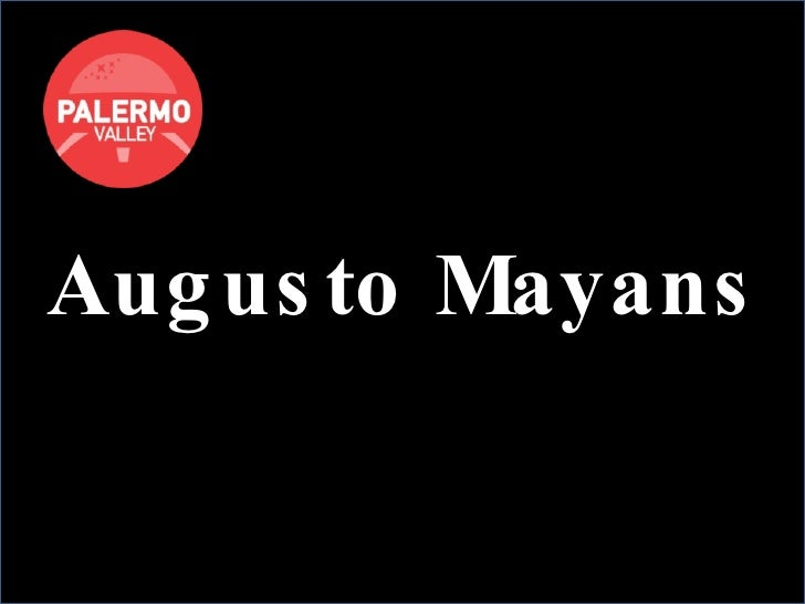 Augusto Mayans