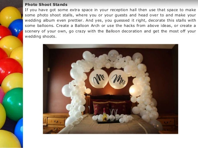 5 Awesome Wedding Balloon Decoration Ideas Party Zealot