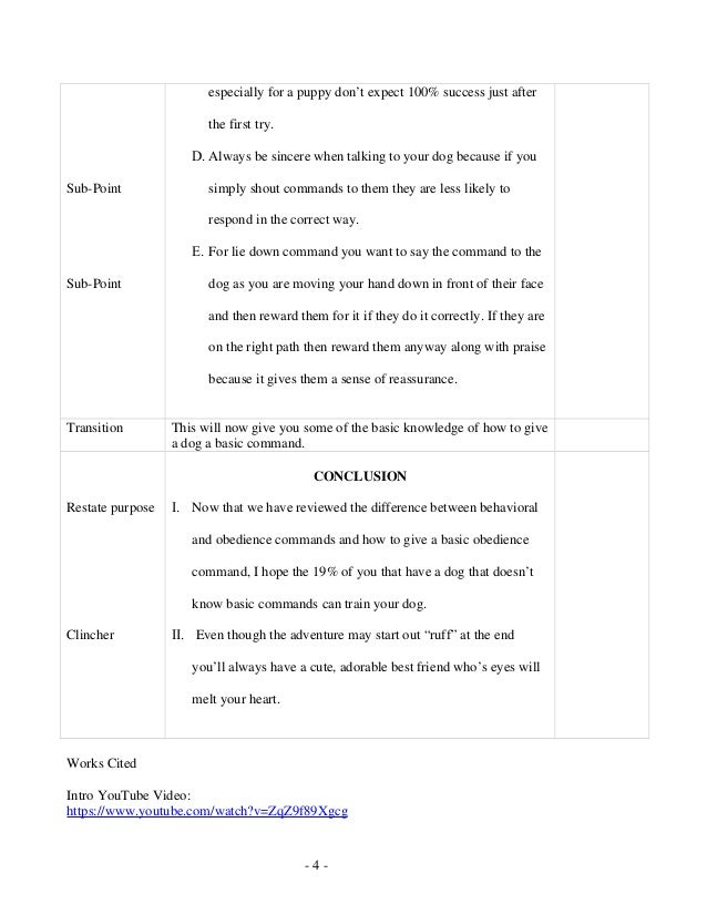 How To Write An Informative Speech With Sample Speech Examples Of Speech  Essay SlidePlayer