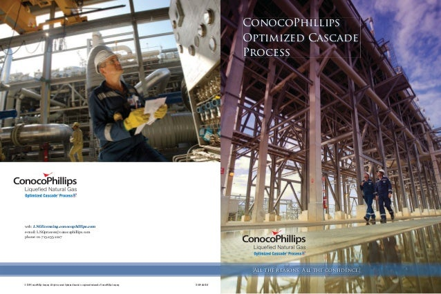 All the reasons. All the confidence. ConocoPhillips Optimized Cascade® Process € *((1 ;gfg[gH`addahk ;gehYfq& 9dd ja_`lk j...
