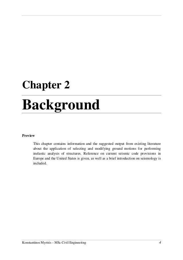 civil engineering dissertation