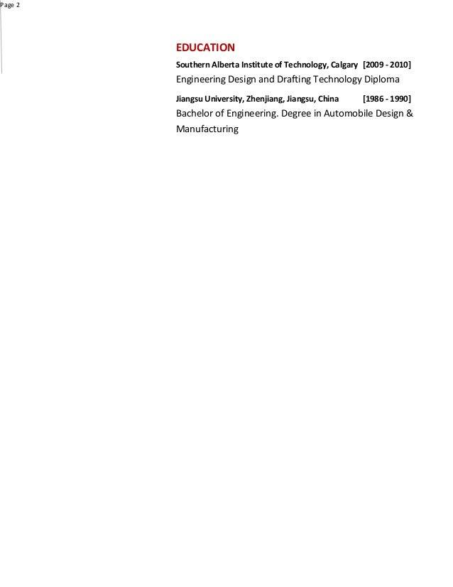 Resume - Sdong