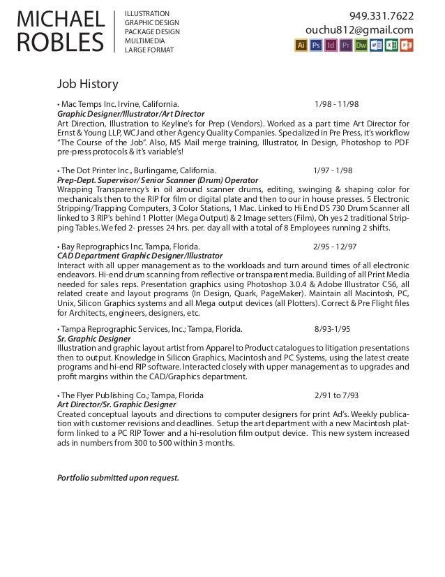 mr graphic designer resume 2015