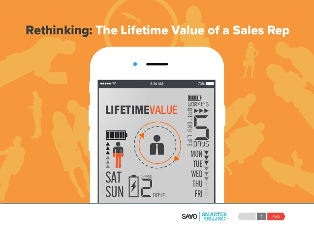 FWD1 LIFETIMEVALUE Rethinking: The Lifetime Value of a Sales Rep
