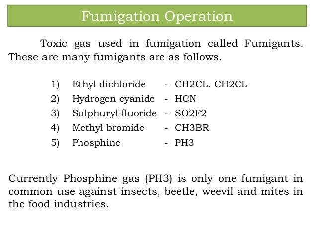 Superior Fumigation Operation ...