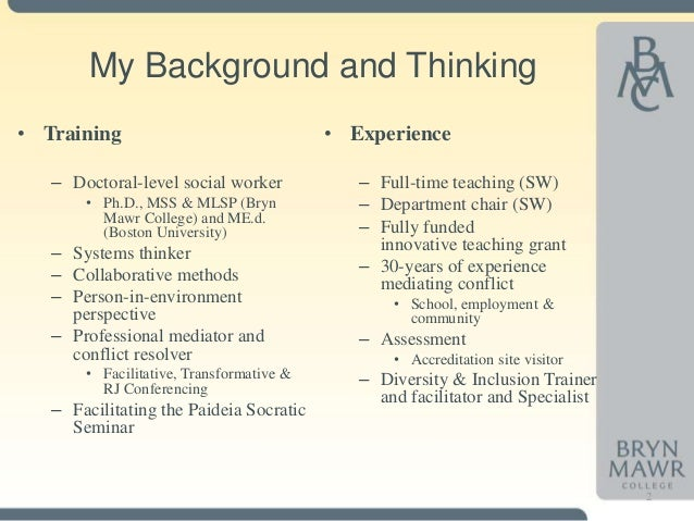Paulian framework for critical thinking