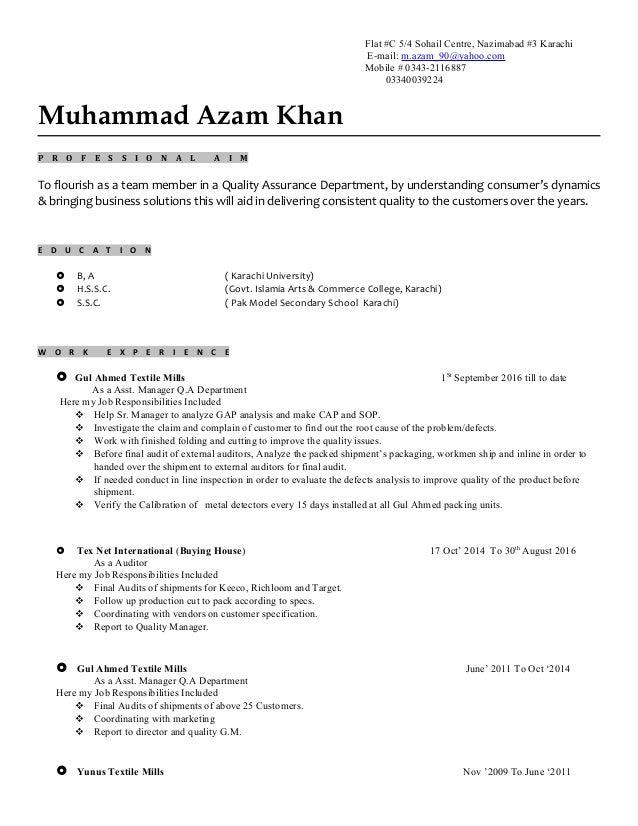 Aazam khan resume cover letter 3d modeler