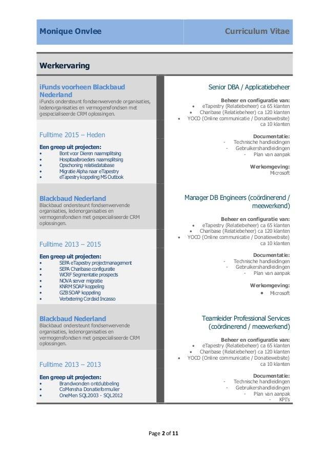 CV YMRM Onvlee   uitgebreid incl competenties
