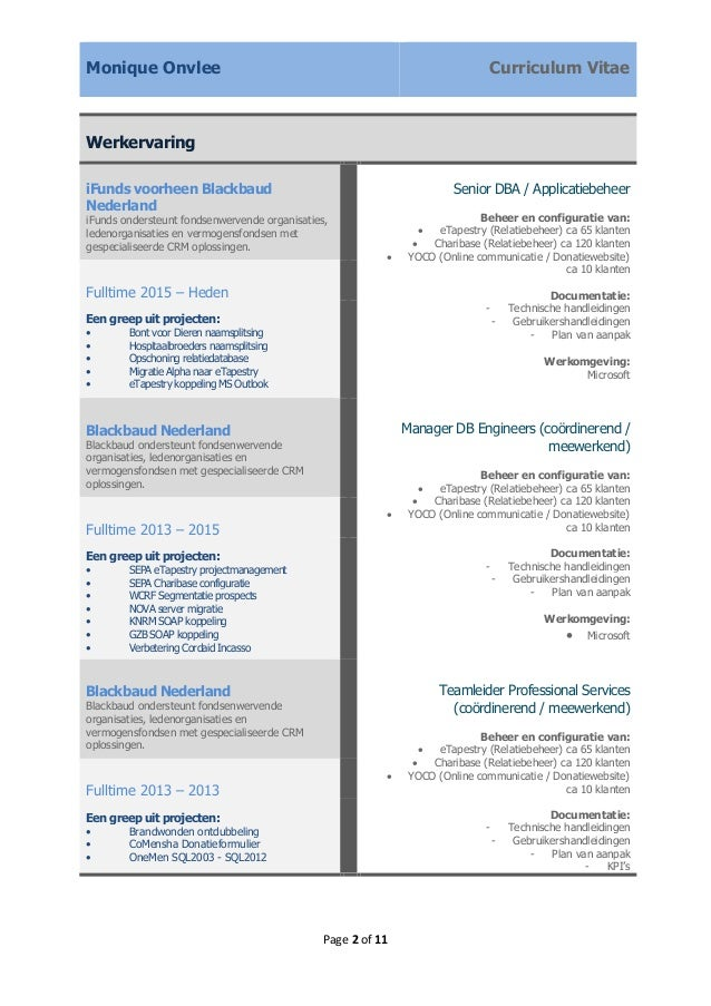competenties cv