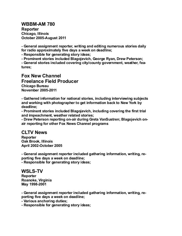 news reporter resume april onthemarch co