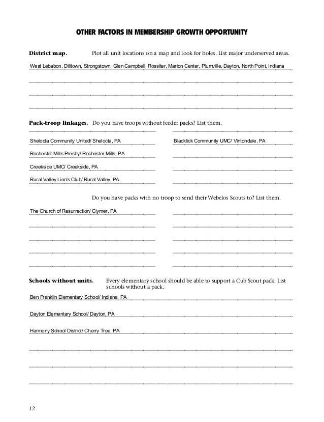 13 Growth Plan Workbook CR – Webelos Citizen Worksheet