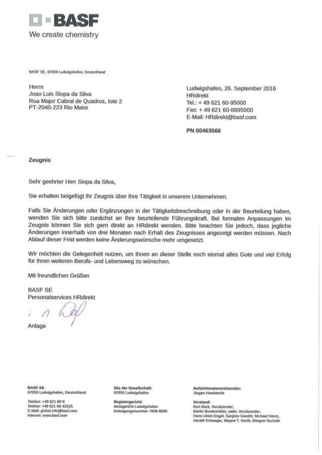 Carta BASF-Recomendação