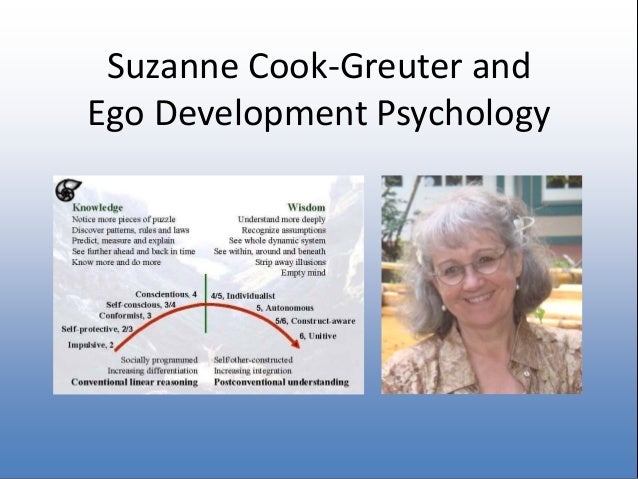 jane loevinger and her theory of ego development essay Ego development and complexity theory conception of ego development loevinger was right to concept of ego, and not to have linked her theory.