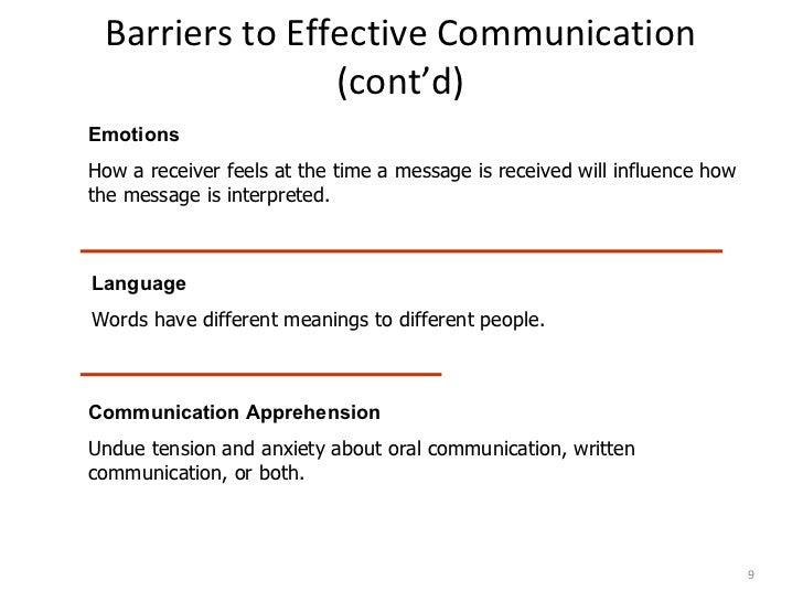 What Are the Barriers to Effective Communication?