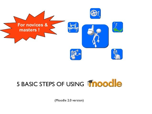 5 BASIC STEPS OF USING For novices & masters ! (Moodle 2.0 version)